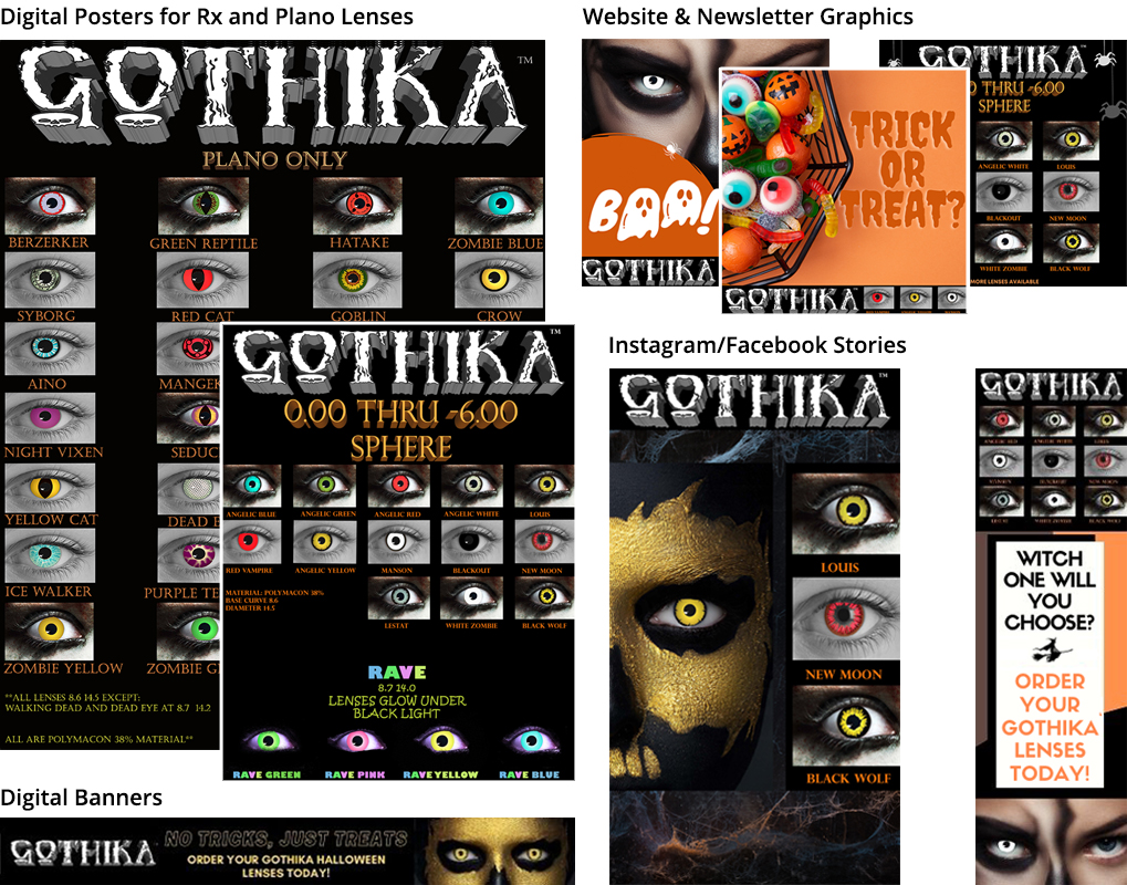 Gothika page 2020 graphic update