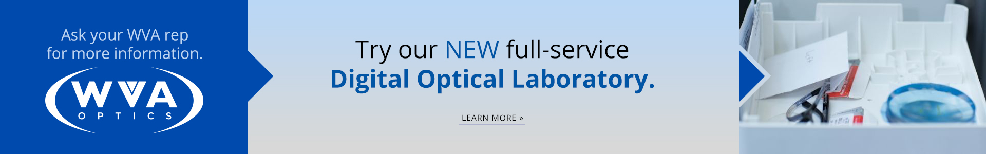Wva optics lab banner